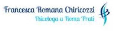 Dott.ssa Francesca Chiricozzi-psicologa in Roma Prati
